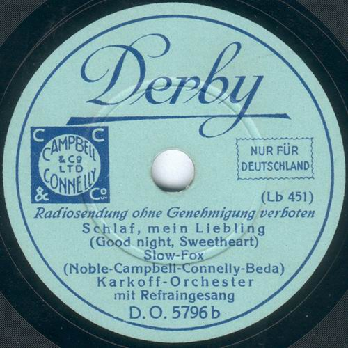 Derby DO5796 Karkoff-Orchester