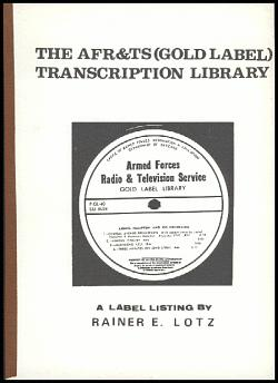 AFR&TS Gold Label Transcription Library